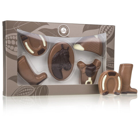 Chocolate set for horse lovers