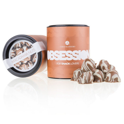 Obsession - Macadamia noten in chocolade