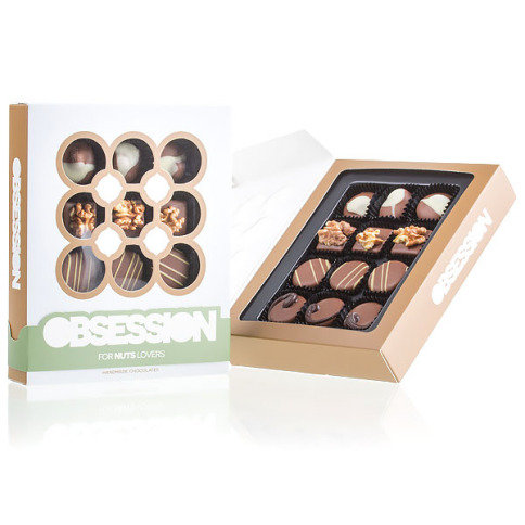 Obsession noisette - Chocolats