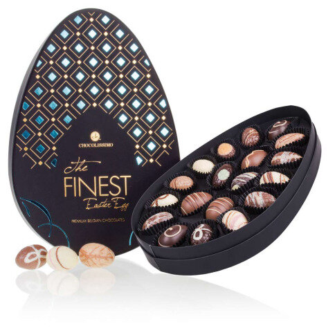 The Finest Easter Egg Blue - Chocolade paaseitjes