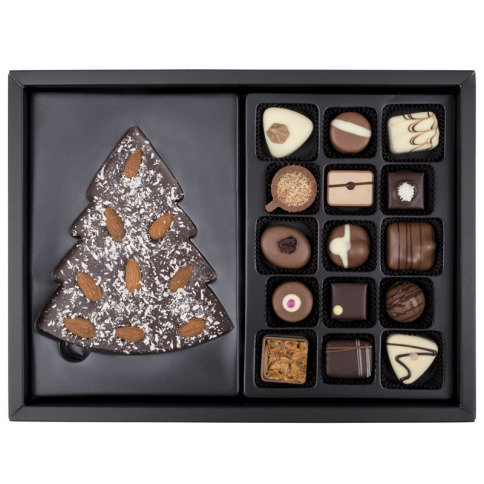 Xmas ChocoPostcard - Maxi - Gold